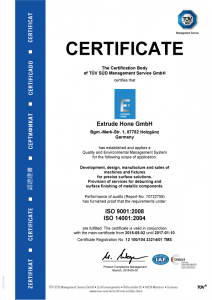 ISO-Certificate-Extrude-Hone-GmbH-Holzguenz