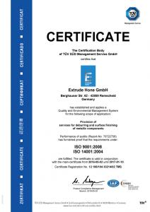 ISO-Certificate-Extrude-Hone-GmbH-Remscheid