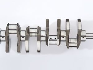 crankshaft section, inner intersected oil holes and interior surface are deburred and polished using Electrochemical machining