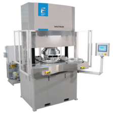 SPECTRUM EXTRUDE HONE abrasive flow Machining large machine for Aerospace applications