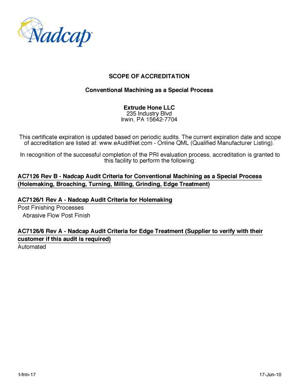 NADCAP-Extrude-Hone-LLC-165177-ScopeOfAccreditation